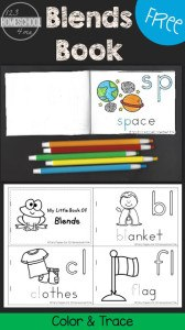 Blends Color and Trace Book