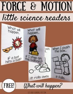 Force-Motion-Little-Readers