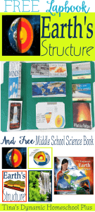 Free-Earth-Structure-Lapbook-Middle-School-Science-Book-@-Tinas-Dynamic-Homeschool-Plus