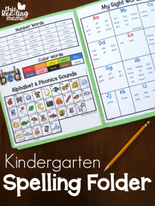 Kindergarten-Spelling-Folder-This-Reading-Mama-a-Subscriber-Freebie