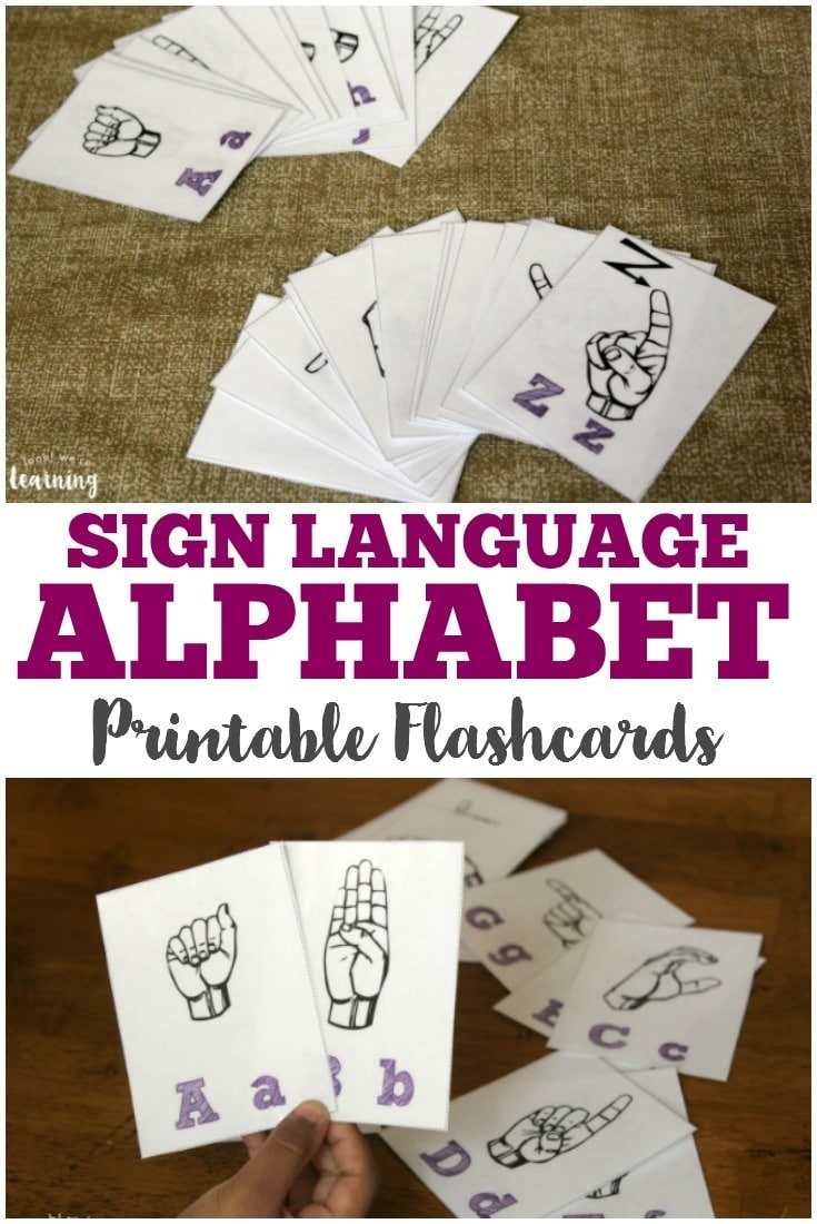 photo relating to Sign Language Alphabet Printable Flash Cards referred to as Indication Language Alphabet (Totally free Printable Flashcards