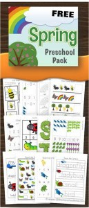Spring Preschool Worksheets, kindergarten worksheets