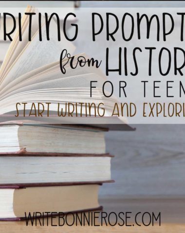 FREE Writing Prompts from History for Teens