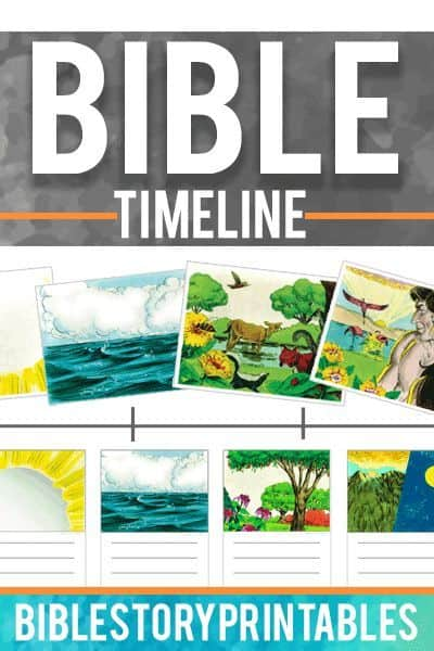 graphic relating to Free Printable Bible Timeline referred to as Bible Timeline Supplies (200+ No cost Printables) - Homeschool