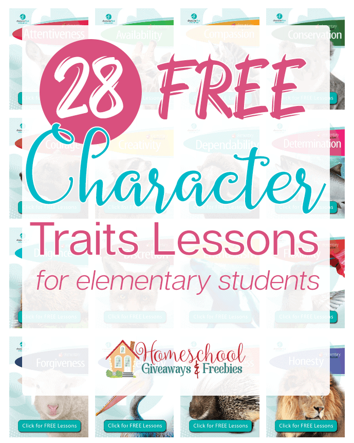 image relating to Character Traits Printable named 28 No cost Identity Properties Classes - Homeschool Giveaways