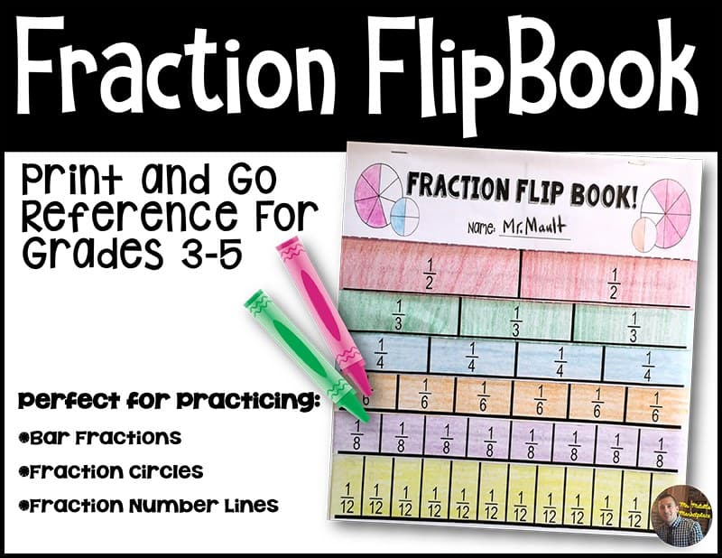 fraction-flip-book
