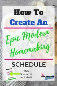 homemaking+schedule