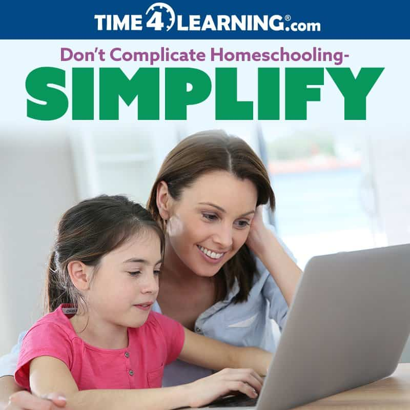 Don't Complicate Homeschooling — Simplify