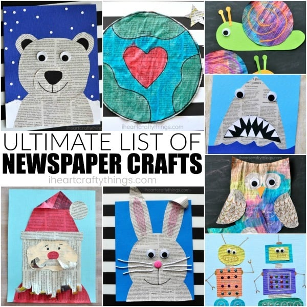 ultimate-list-newspaper-craft-ideas-2