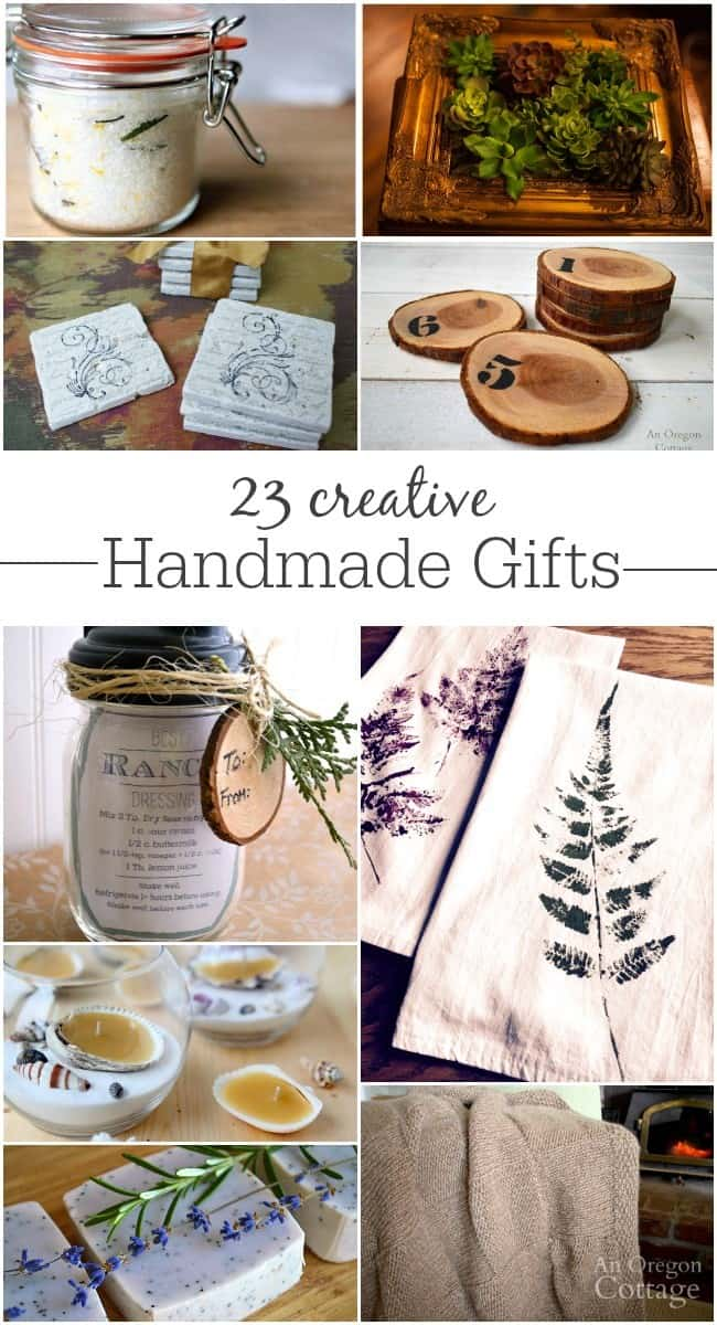 23 creative and unique handmade gifts for Creative handmade ideas for gifts