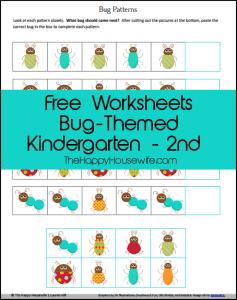 Bug-Themed-Worksheets