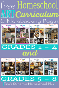 Free-Homeschool-Art-Curriculum-and-Notebooking-Pages.-Grades-1-to-8-@-Tinas-Dynamic-Homeschool-Plus