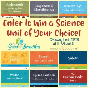 G&B Science Unit Giveaway_updated