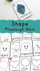 Shape-Playdough-Mats