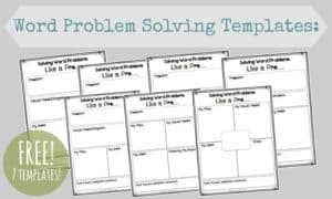 Word-Problem-Solving-Templates
