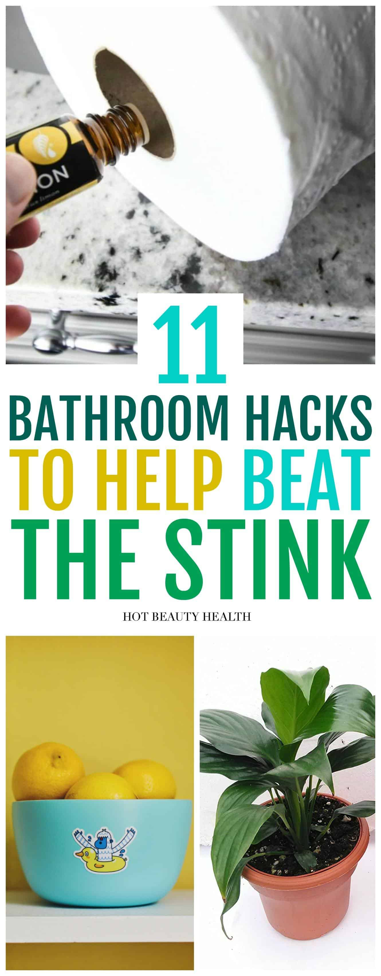 11 easy ways to get rid of bathroom smells How to get rid of shower smell