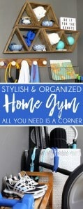 Blue i Style - Home Gym Ideas Small Space Decor