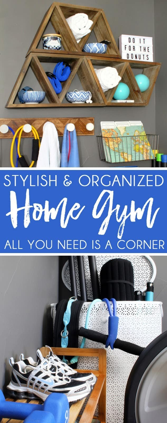 Stylish home gym ideas for small places