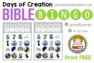 CreationBibleBingo