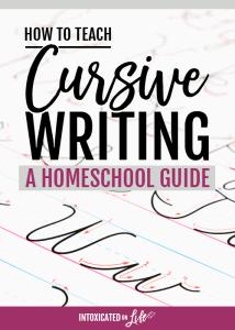 HowToTeachCursiveWriting-AHomeschoolGuide