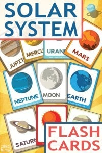 Lovely-Free-Solar-System-Flashcards