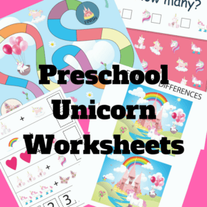 Preschool-UnicornWorksheets