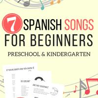 Spanish Songs for Beginners_The Homeschool Resource Room