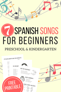 Spanish Songs for Beginners_The Homeschool Resource Room