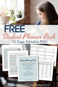 Student Planner packHSG