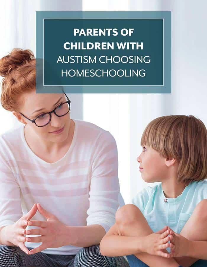 Parents of Children with Autism Choosing Homeschooling