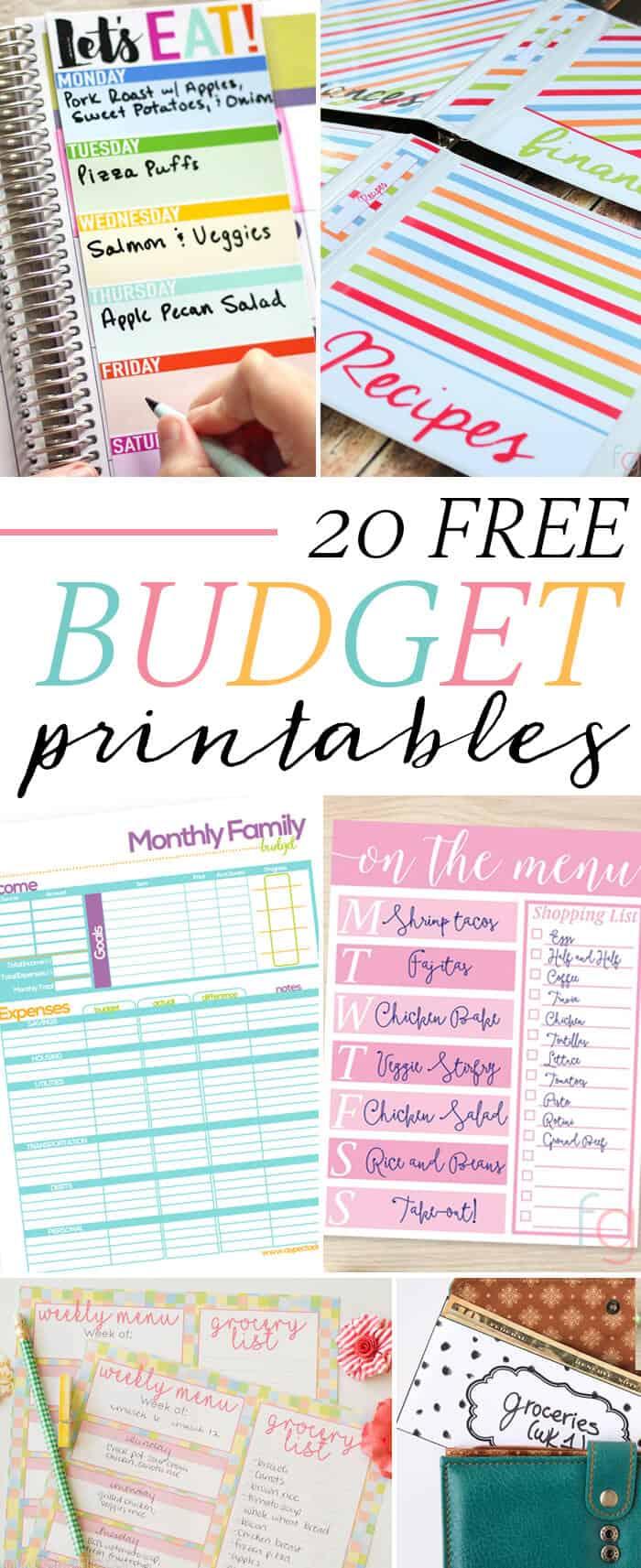 free-budget-printables