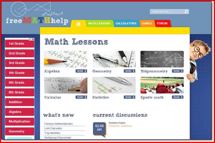 free-math-help-online