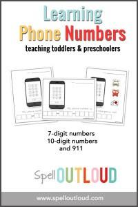 learningphonenumbersactivity