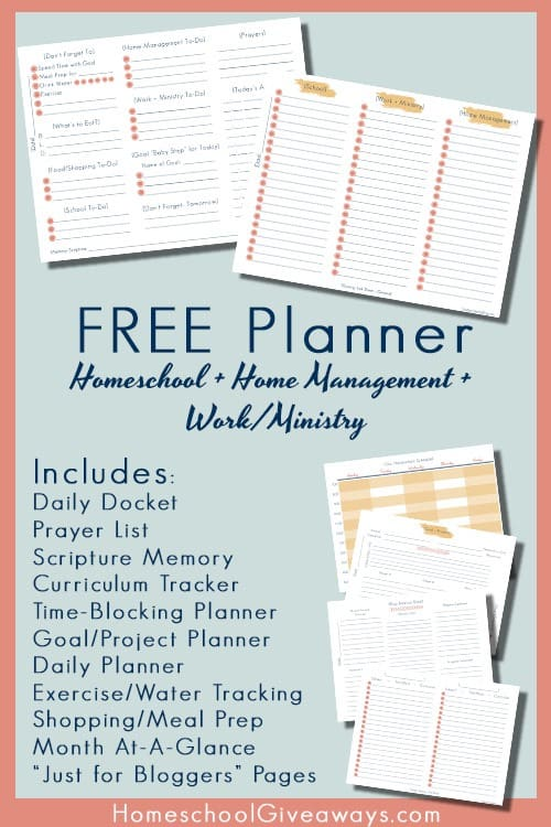 planning printables postHSG