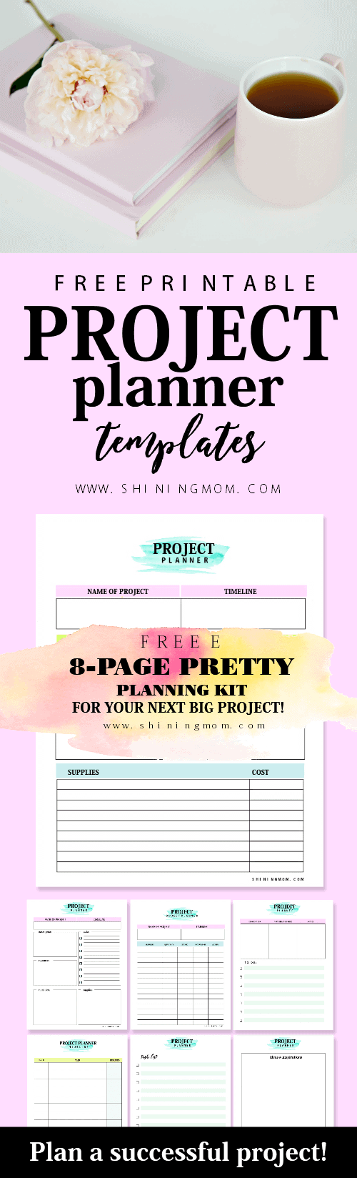 project-planner-printable-free