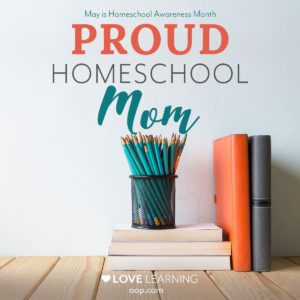 Proud Homeschool Mom