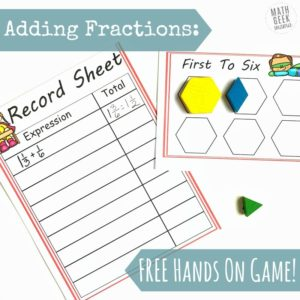 Adding-Fractions-Game-Square