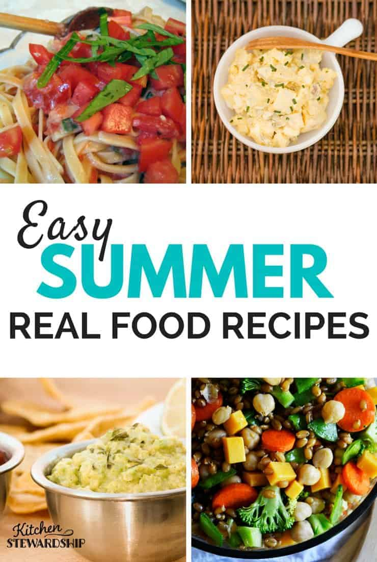 Easy-summer-real-food-recipes