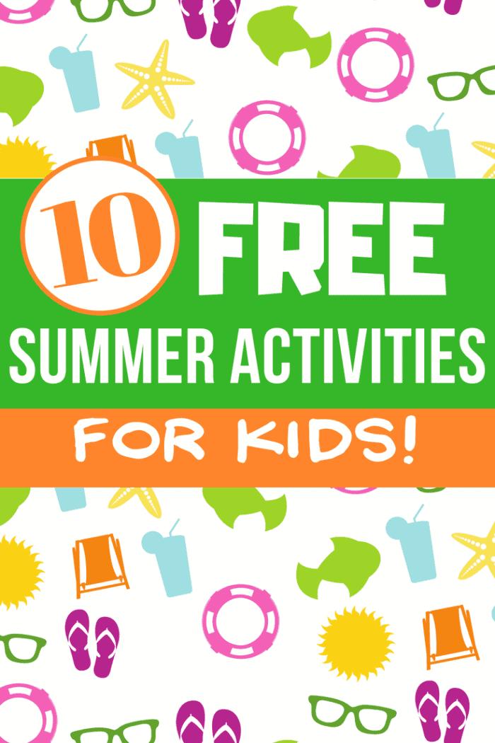 Free Summer Activities for Kids