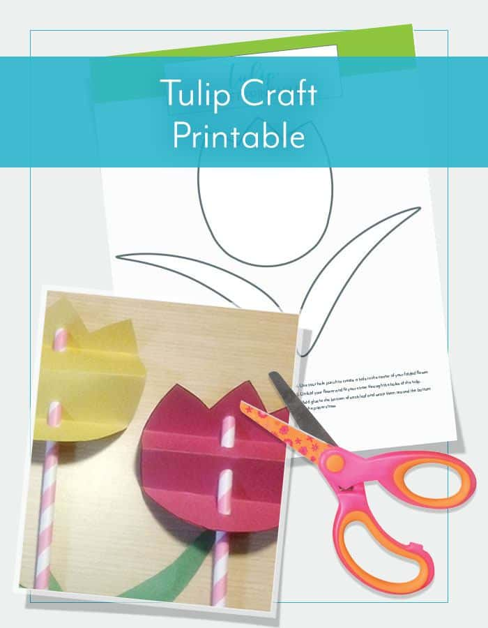 Tulip Craft Printable