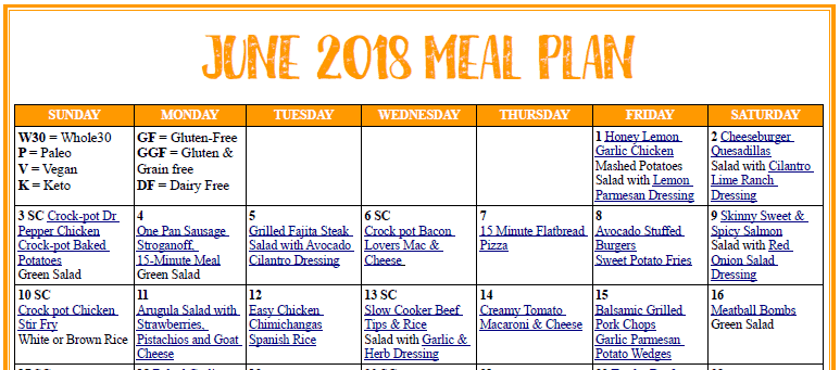 June Meal Plan cropped