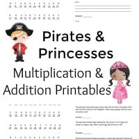 Multiplication-and-Addition-Printable