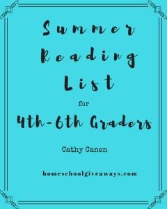 Summer Reading List blue