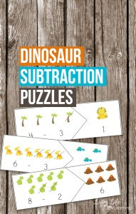 dinosaur-subtraction-puzzles