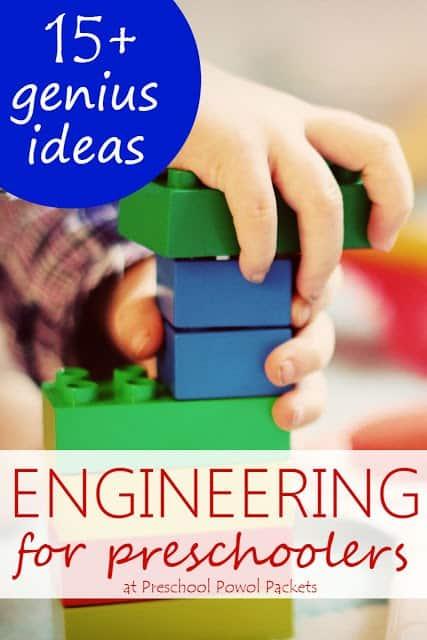 engineering for preschoolers label