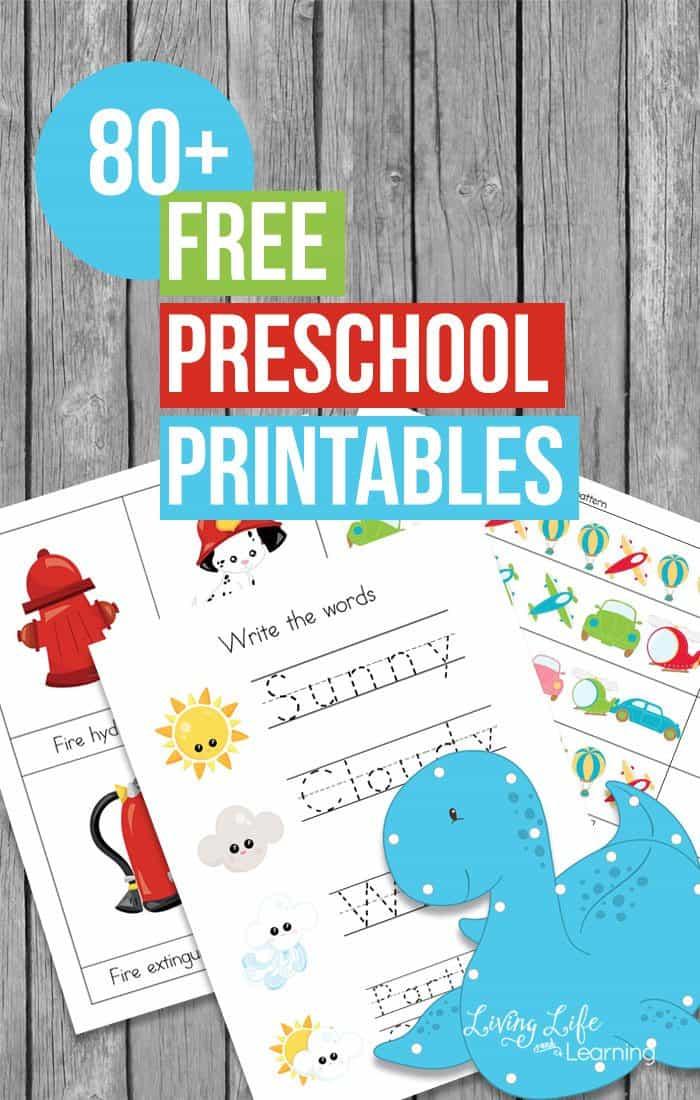free-preschool-printables