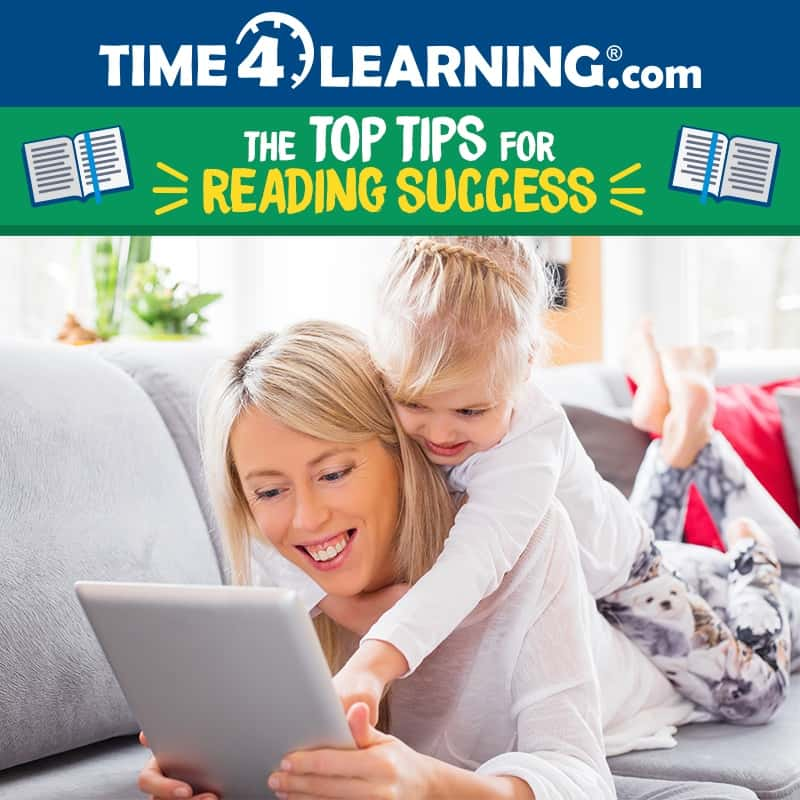 Time4Learning's Top Tips for Reading Success