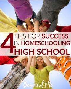 4-Tips-for-Success-in-Homeschooling-High-School