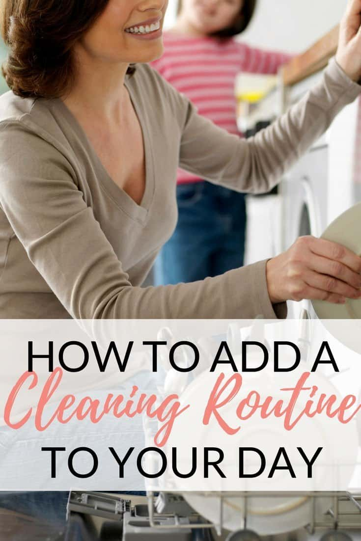 Cleaning-Routine