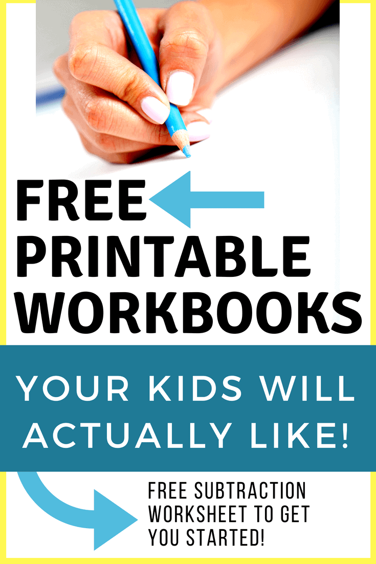 FREE Printable Workbooks for Your Homeschool | Homeschool Giveaways